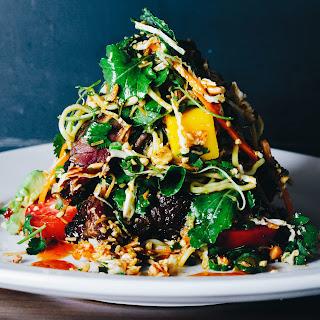 Thai Steak and Noodle Salad.