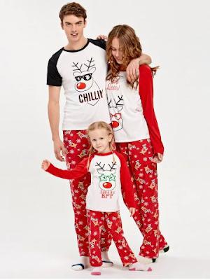 pigiami coordinati famiglia