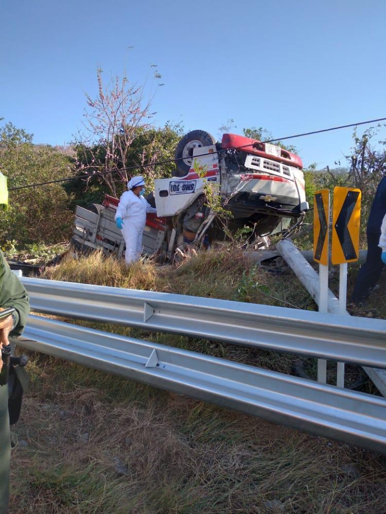 Una persona muerta en accidente en la Loma de Macario