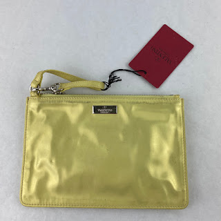 Valentino Yellow Pouch