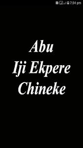 Download Abu Iji Ekpere Chineke (Igbo Hymnal) From A2Z APK, Download