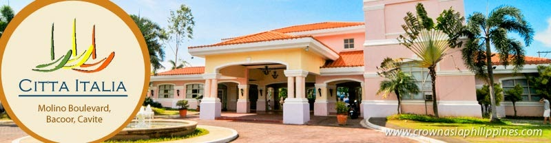 Community Overview - Crown Asia Citta Italia | House for Sale in Bacoor Cavite
