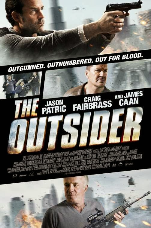 Poster Of English Movie The Outsider (2014) Free Download Full New Hollywood Movie Watch Online At Alldownloads4u.Com
