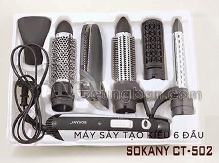 Bộ làm tóc đa năng 6 in 1 Sokany CT-502