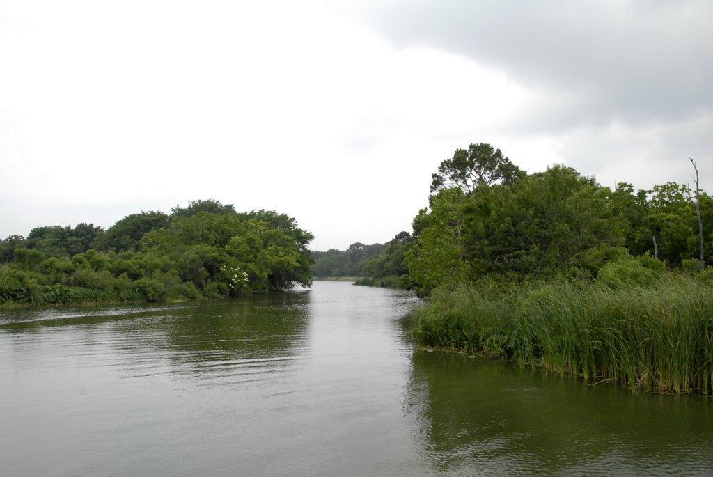 Emtramce of Horsepen Bayou