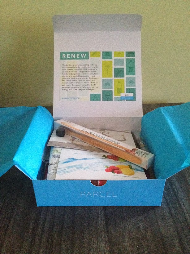 January Parcel box