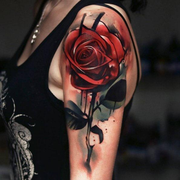este_aergrafo_que_o_estilo_de_rosa_vermelha