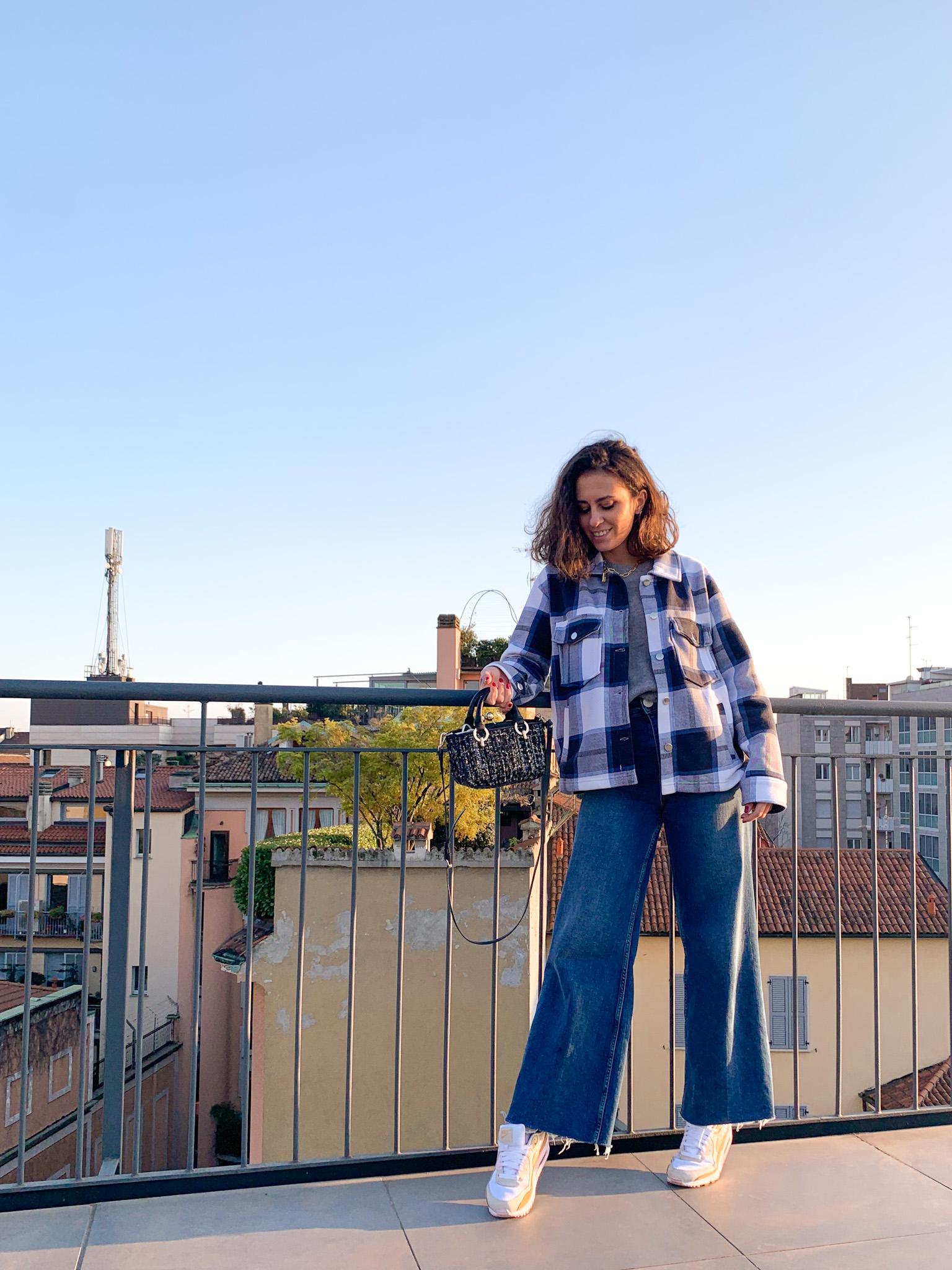 trend giacca camicia a quadri come abbinarla outfit