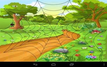Auditory Analysis Squash the Spider game