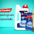 Up to 60% off on Daily essentials and 10% Cashback