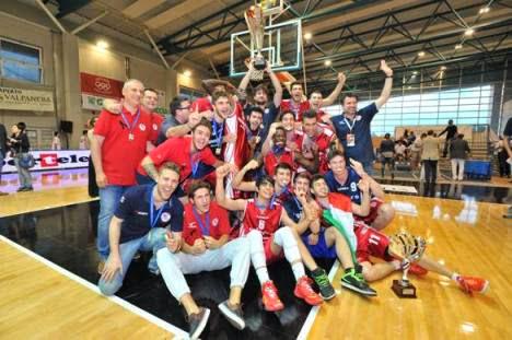 Assigeco Casalpusterlengo Campione d'Italia 2014 DNG-Under 19 Eccellenza