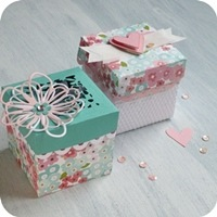 10 - sizzix big shot plus - box big shot plus - party favors - bomboniere - fustelle