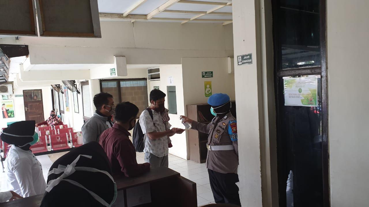 Polres Gowa Siagakan Personil Pada Sidang Pembunuhan Atas Terdakwa HS