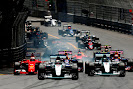 Start of the 2015 Monaco F1 GP