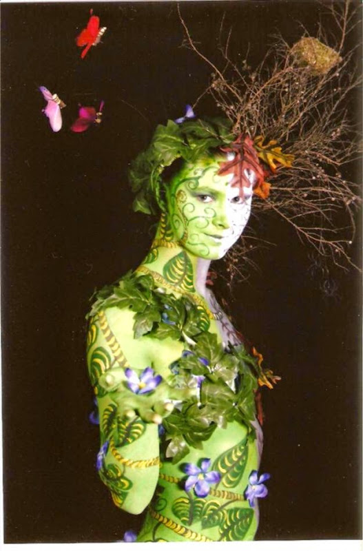 Celeste Strewe   NZ Body Art Awards 3907 quotPersephonequot Fantasy Spfx