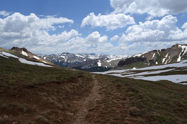 ridge line view