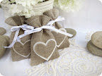 Heart Favour Bags