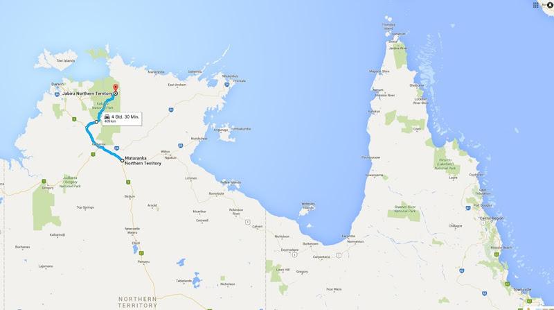 z33 von Mataranka nach Jabiru