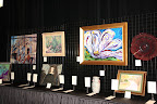 Art Gallery section of the Silent Auction