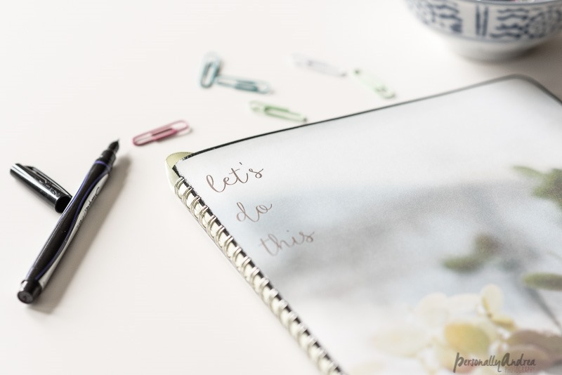 Pretty DIY Photo Covered Planner