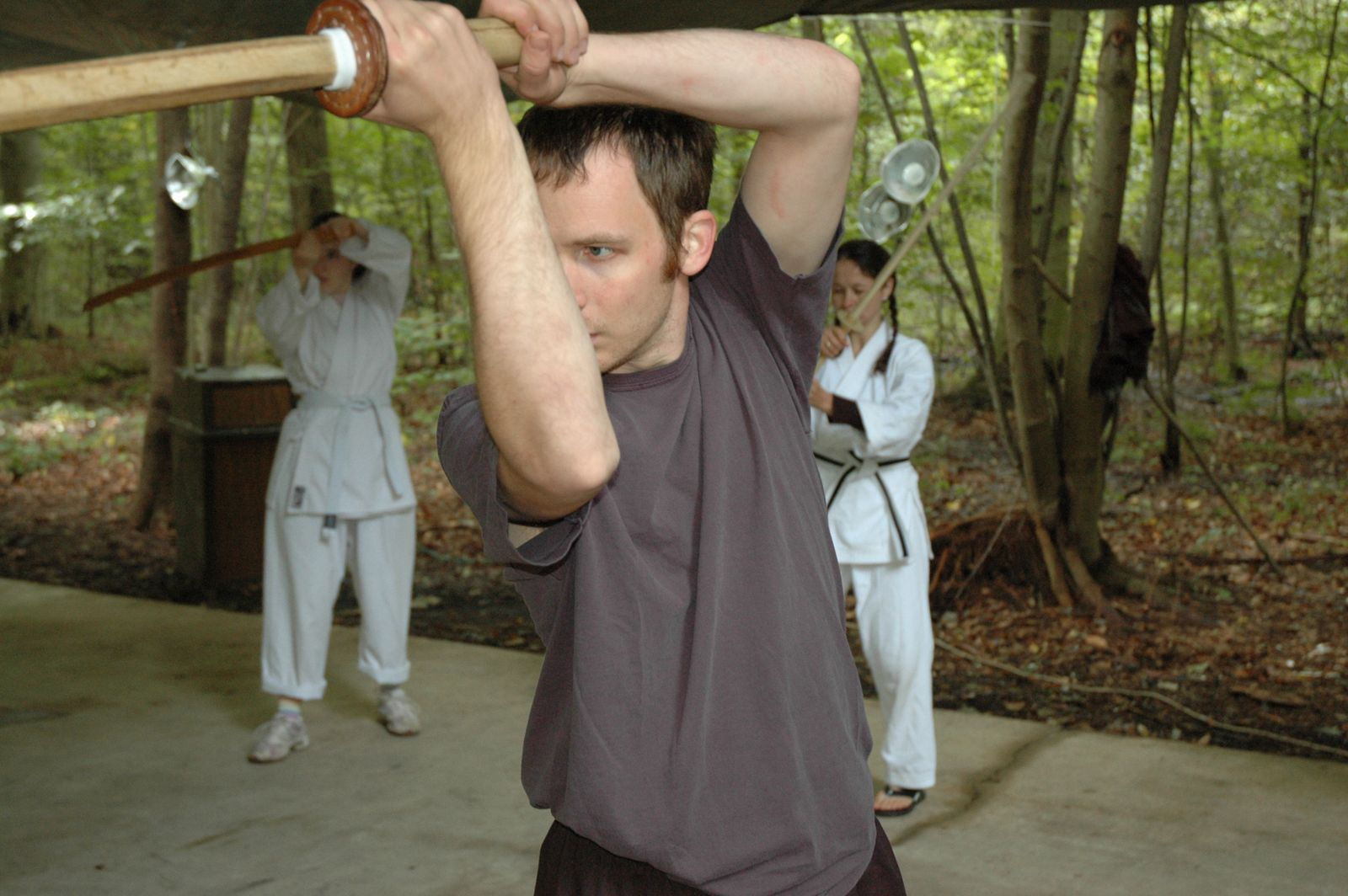 Aikido and Outdoor Survival Sept 2010 - Bokken Work