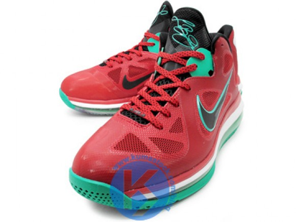 the latest 63dc9 4c7b6 510811-601 Action Red Black-White-New Green. Detailed Look at Nike LeBron 9  Low 8220Liverpool8221 Detailed Look at Nike LeBron 9 Low 8220Liverpool8221  ...