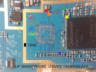 ISP PinOut Samsung GT-S7500
