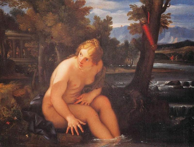Carlo Maratta - Bath of Diana
