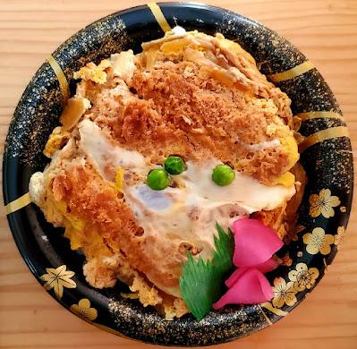 268円のカツ丼 / かわちや 若松店 (会津若松市)