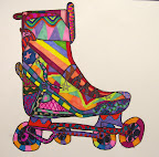 Roller Blade by Cate