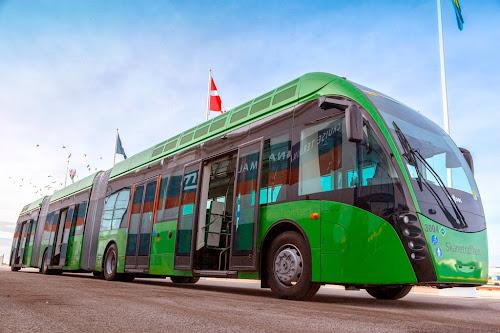 Van Hool Exqui.City - autobus hybrydowy zasilany biogazem (CNG, gaz ziemny, biometan)