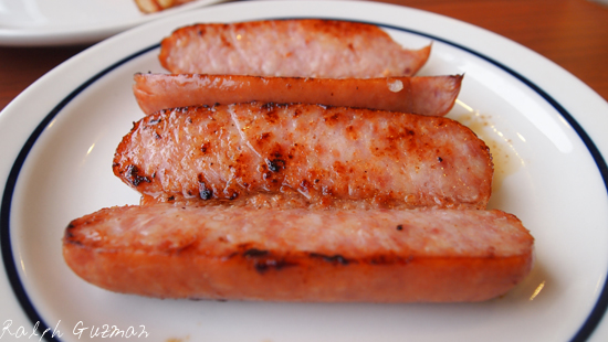 Smoked Sausages at Manila's First IHOP - RatedRalph.com