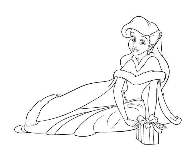 Princess Coloring Pages Within Princess Coloring Page
