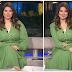الإعلامية السورية الجميلة رولا ابراهيم مذيعة قناة الجزيرة | إطلالة يوم الخميس 3/6/2021 