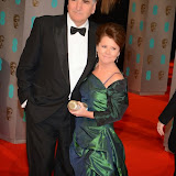 OIC - ENTSIMAGES.COM - Jim Carter and Imelda Staunton  at the EE British Academy Film Awards (BAFTAS) in London 8th February 2015 Photo Mobis Photos/OIC 0203 174 1069