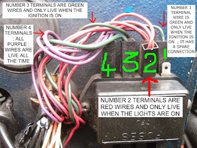FUSES & FUSEBOX - Fifers Reliant Hints & Tips on cable box wire, starter wire, gauge wire, fuse remote wire, fuse cap wire, breaker box wire,