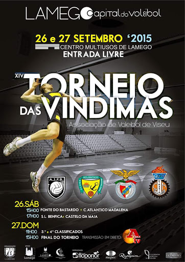 XIV Torneio das Vindimas - Lamego - 26 e 27 de setembro de 2015