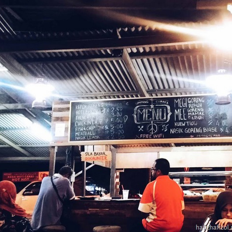 Tempat Makan Best Kuala Terengganu-Simpang Corner