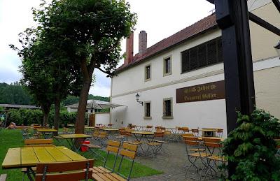 Biergarten, Brauerei Göller, Drosendorf