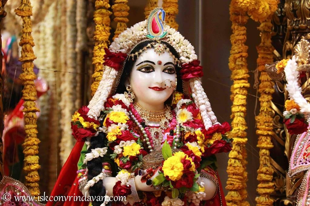 ISKCON Vrindavan Sringar Deity Darshan 29 Feb 2016 (18)