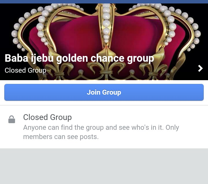 Baba Ijebu Banker For Gold