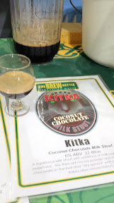 Tip for remembering beers you tried - take a photo! Here the Kitka Coconut Chocolate Milk Stout from The Brew Kettle