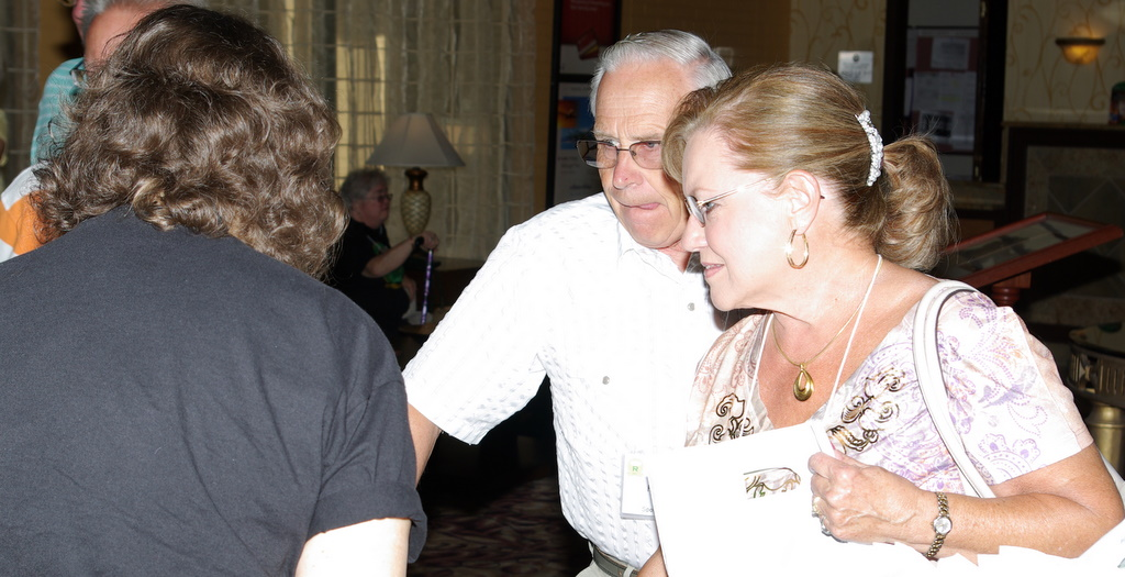 Forest Lee and Sandy Carpenter Lee