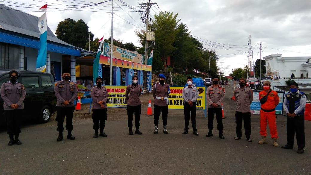 Polres Soppeng Kerahkan Personil Dalam Pengamanan Shalat Idul Fitri 1442 H
