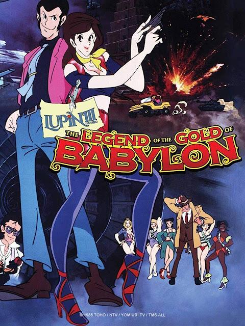 Lupin III: Legend of Golden Babylon