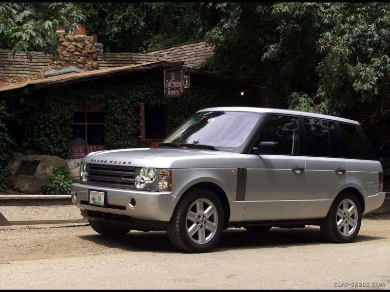2004 Land Rover Range Rover Suv Specifications Pictures