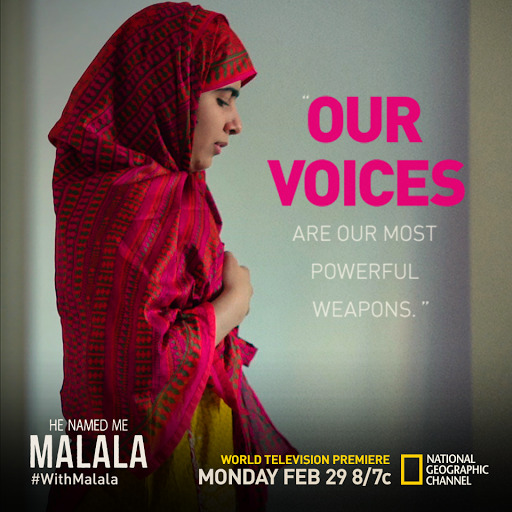Stand #withMalala to improve education for girls