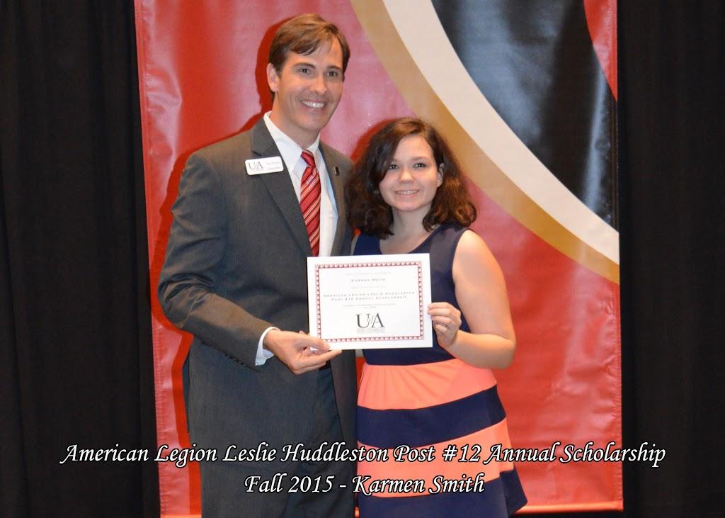 Scholarship Ceremony Fall 2015 - American%2BLegion%2B-%2BKarmen%2BSmith.jpg