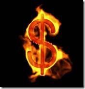 Dollar fire