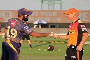 IPL 2021 SRH VS KKR दोनों विदेशी दमदार कप्तानों की पहली टक्कर आज कौन मारेगा बाजी देखना |